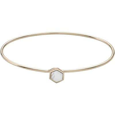 CLUSE Idylle Gold Marble Hexagon Armband CLJ11002