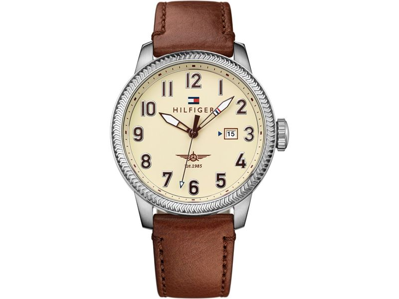 Tommy Hilfiger TH1791315 Horloge Bruin mm 5