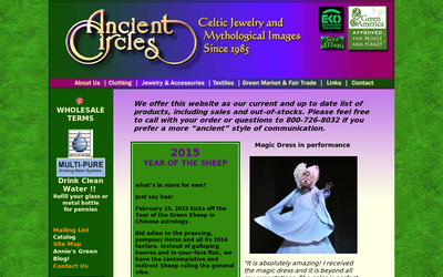 Ancientcircles.com website