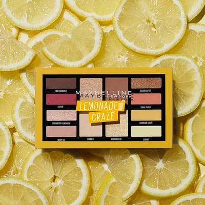 Maybelline Lemon Craze Lemonade Oogschaduw
