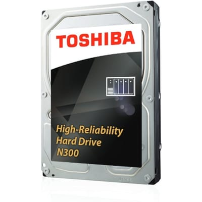 Toshiba N300 8TB 8000GB SATA III interne harde schijf