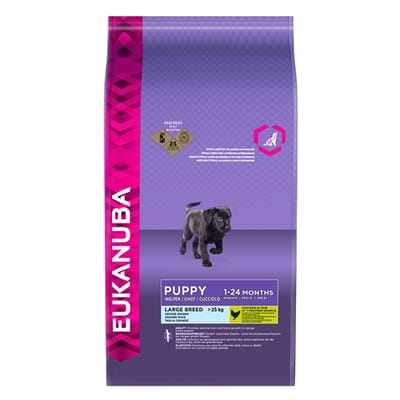 Eukanuba Dog Puppy Large Breed Chicken 3 kg