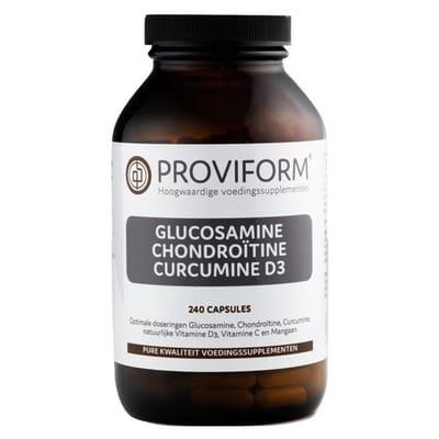 Glucosamine chondroitine curcuma D3