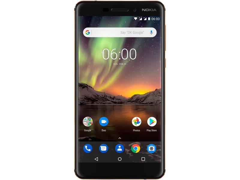 Nokia 6 32 GB Zwart