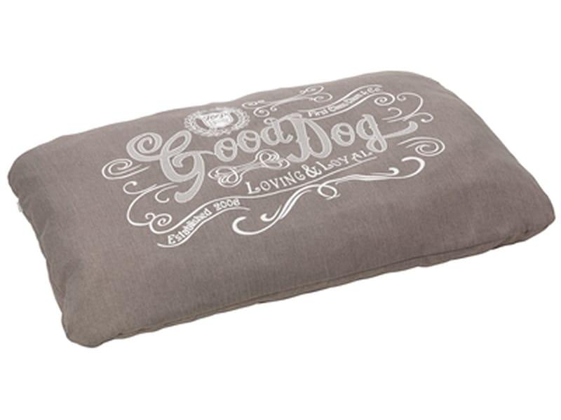 House of paws hondenkussen good dog linnen grijs