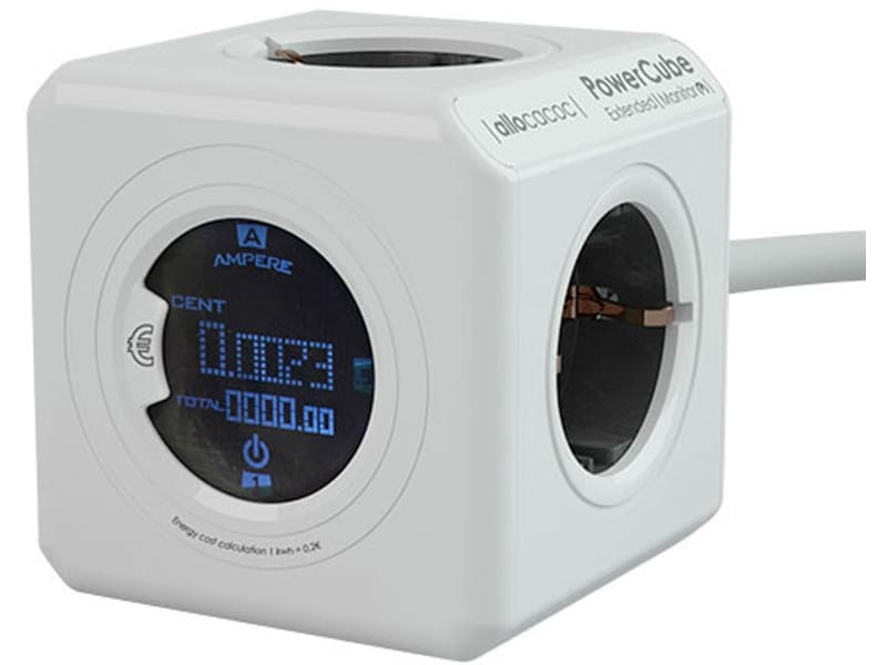 Allocacoc PowerCube Extended Monitor Kabel