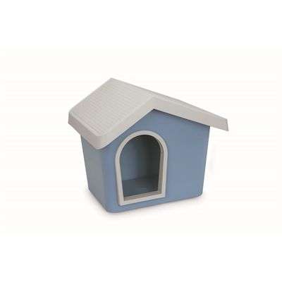 Imac hondenhok zeus 50 licht blauw cm