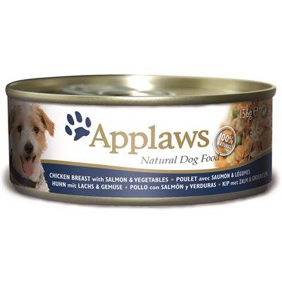 Applaws dog blik chicken salmon rice