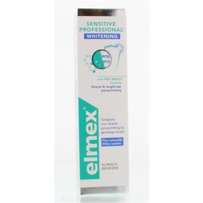 Elmex Sensitive Professional Whitening Tandpasta 75 ml