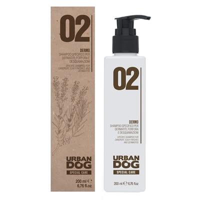 Urban dog shampoo voor geirriteerde en droge huid