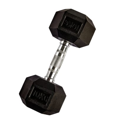 VirtuFit Hexa Dumbbell - 10 kg - Per stuk
