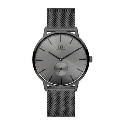 Danish Design IQ66Q1250 horloge heren grijs edelstaal PVD