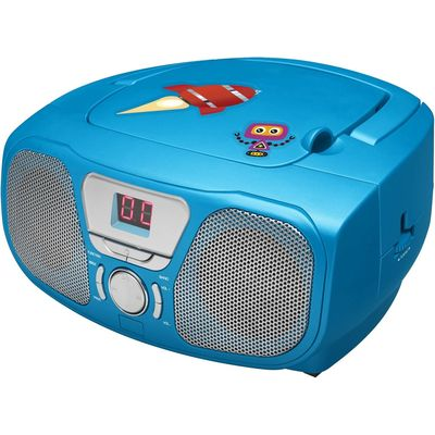 Bigben Draagbare Radio CD Speler Blauw