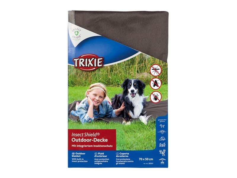 Trixie insect shield outdoor deken taupe