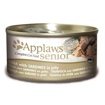 Applaws cat blik senior tuna / sardines