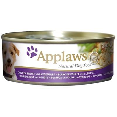 Applaws dog blik chicken vegetables rice 156 gr
