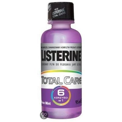 Listerine Mondwater Total Care