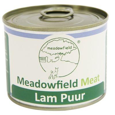 Meat blik lam puur