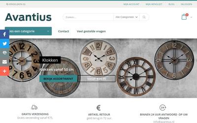 Avantius website