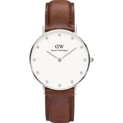 Daniel Wellington Classy Mawes DW00100079 Horloge 34 mm