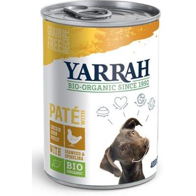 Yarrah blik pate kip hondenvoer 400 gr