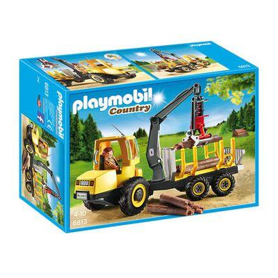 Playmobil 6813 Houttransport met kraan
