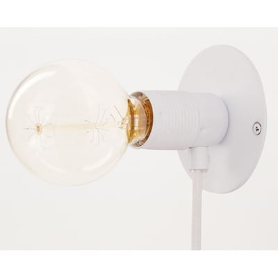 E27 Wandlamp Wit Small