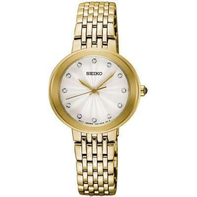 Seiko SRZ504P1 horloge dames goud