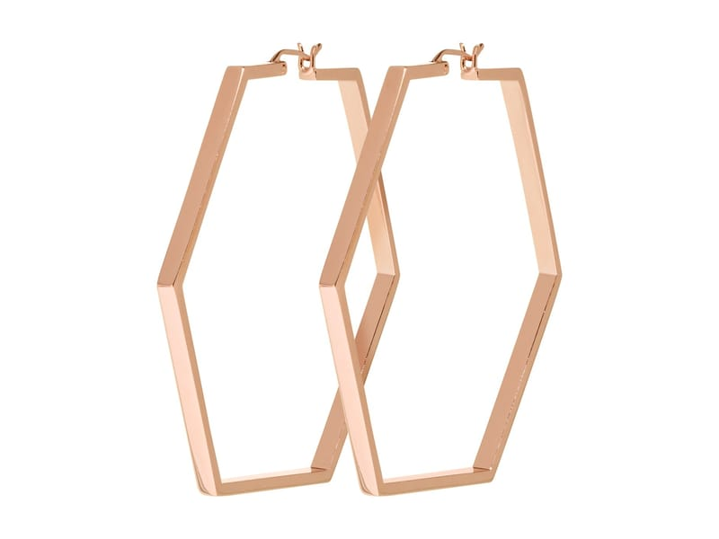 CLUSE CLJ50003 Essentielle Rose Hexagonal Large Oorhangers