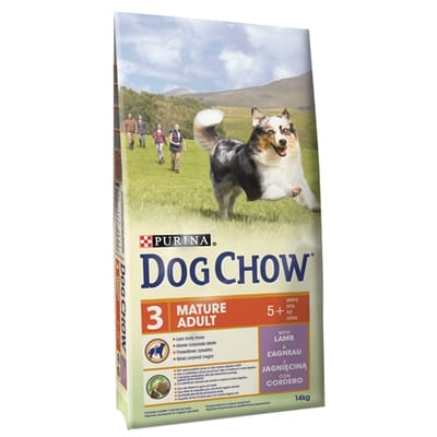 Dog Chow Mature Adult Lam 14 Kg