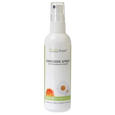 Phytotreat zinkoxide spray calendula en kamille