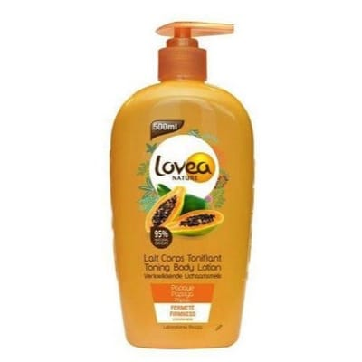 Body lotion papaya