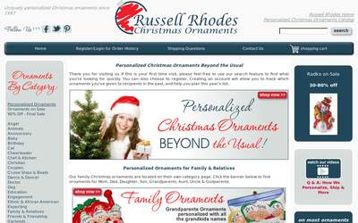 Russellrhodes.com website