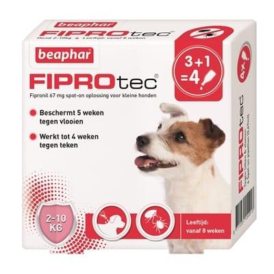 Beaphar fiprodog hond tegen teken en vlooien