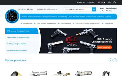 Firma Harm Krale website