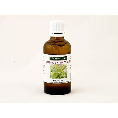 Cruydhof Stevia Extract Wit