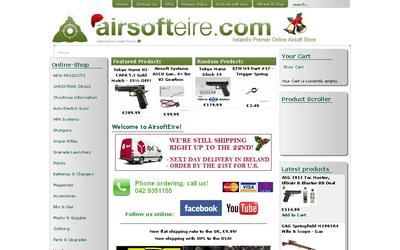 Airsofteire website