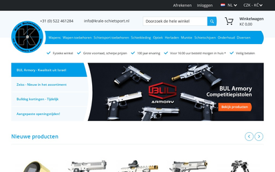 Firma Harm Krale website
