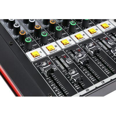 Power Dynamics Mixer Versterker 8
