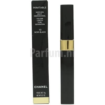 Chanel Inimtable Mascara Nr 10 Noir Black 6 g