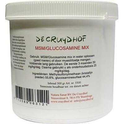 Cruydhof MSM Glucosamine poeder