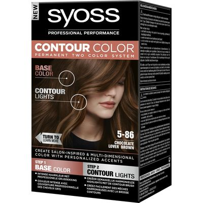 Syoss Contour Color Haarverf 5-86 Chocolate Lover 50 ml