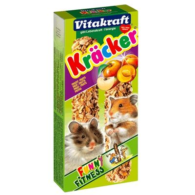 Vitakraft Hamster Kracker Fruit 2 in 1