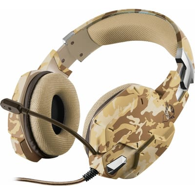 Trust GXT 322 Carus Dynamische Gaming Headset Desert Camouflage