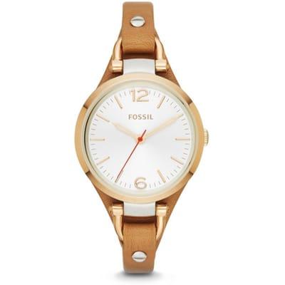 Fossil Georgia ES3565 Horloge Bruin 5