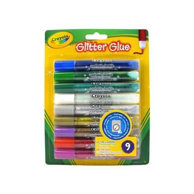 Crayola 9 Glitterlijmtubes