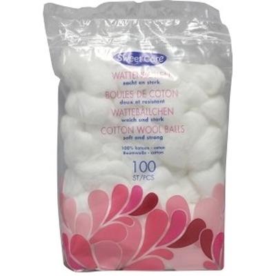 Sweetcare Wattenbollen Wit