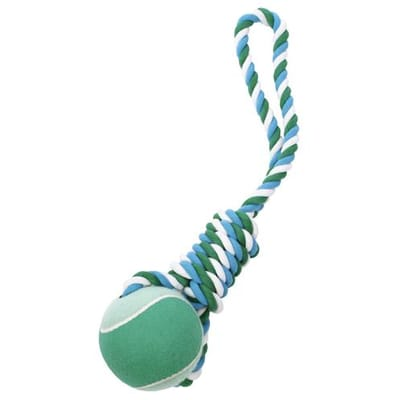 Petbrands wow tennis ball tug