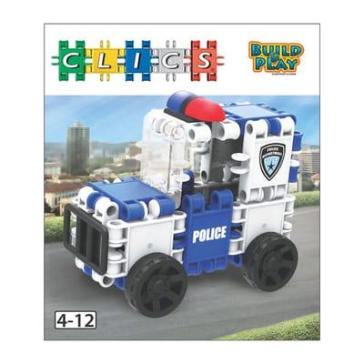 Clics Build en Play - Politiewagen