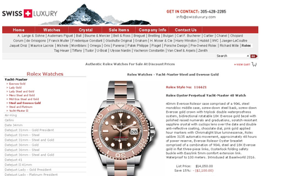SwissLuxury.Com Rolex Watches